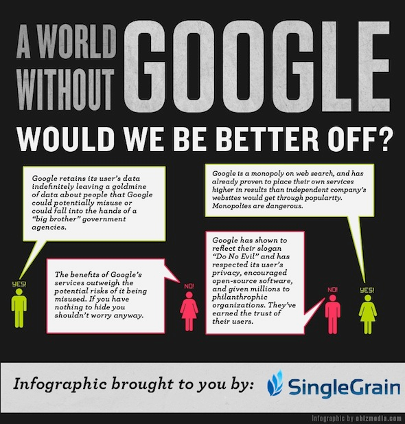 THE INTERNET WITHOUT GOOGLE